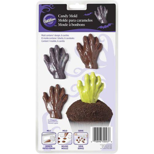 Wilton Halloween Zombie Hand Candy Mold