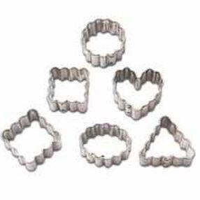 Geometric Crinkle Mini Metal Cutter Set