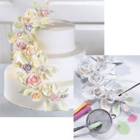 12 in. Floral Cake Decorations