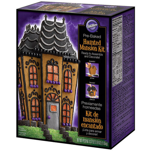 Pre-Baked Haunted Manor Cookie Kit