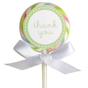 Pastel Lollipop Favor Kit, 24-count