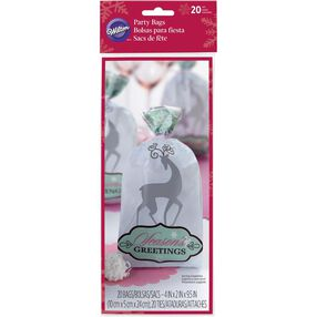 Wilton Holiday Reindeer Party Bags