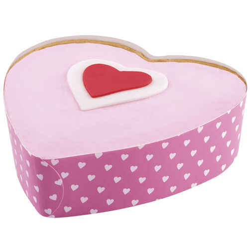 5-inch Heart Disposable Bakeware