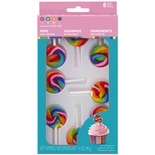 Dylan's Candy Bar Mini Lollipop Icing Decorations