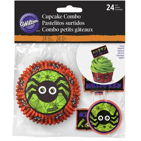 Halloween Cupcake Combo cupcake liners and picks