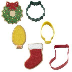Wilton® 3-Pc. Christmas Mantel Metal Cookie Cutter Set