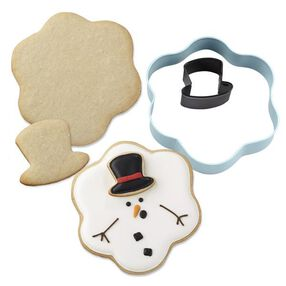 Wilton® 2-Pc. Christmas Melted Snowman Metal Cookie Cutter Set