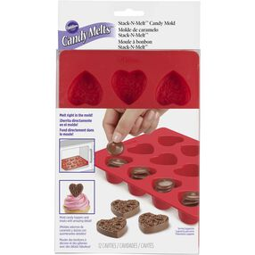 Stack-N-Melt Heart Candy Mold