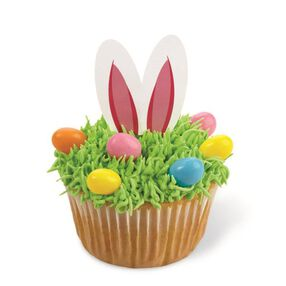Wilton Easter Bunny Fun Pix Cupcake Toppers, 24-Ct.