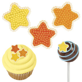 Star Mini Micro Icing Decorations