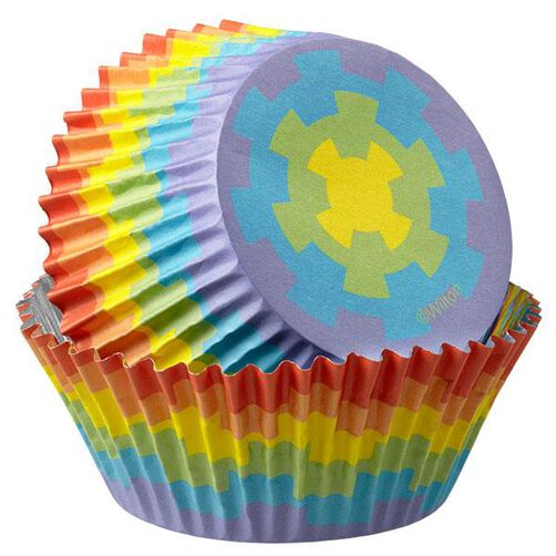 Rainbow ColorCups Standard Baking Cups