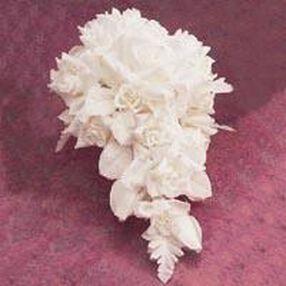 White Cascade Bouquet