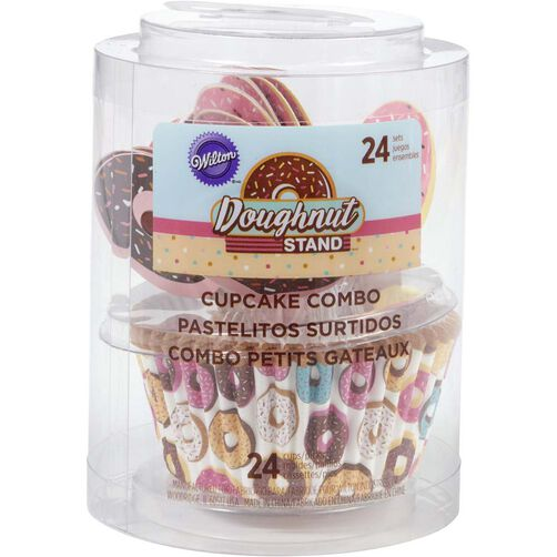Donut Stand Cupcake Decorating Kit