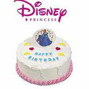 Disney Princess Edible Cake Decoration Set