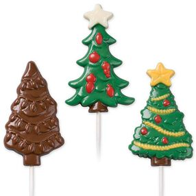 Decorated Trees Lollipop Molds