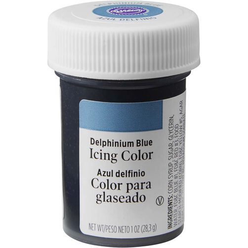 Delphinium Blue Gel Food Coloring Icing Color | Wilton
