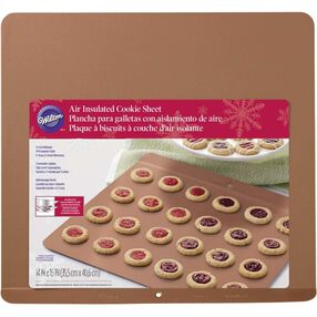 Wilton Air-Insulated Aluminum Cookie Sheet