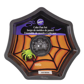Web With Spider Cake Pan Set