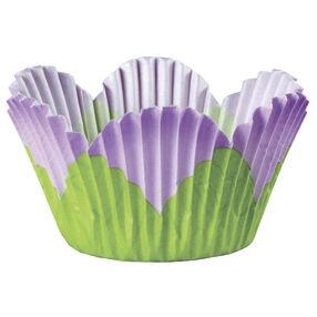 Lavender Mini Petal Cupcake Liners