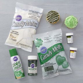 Wilton Green and White Team Color Kit