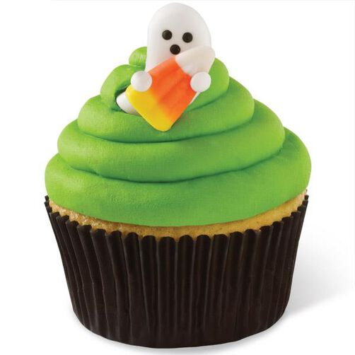 Spooky Pop Pals with Candy Corn Royal Icing Decorations