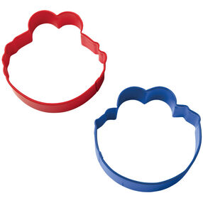 Sesame Street Cookie Monster & Elmo Cookie Cutter Set
