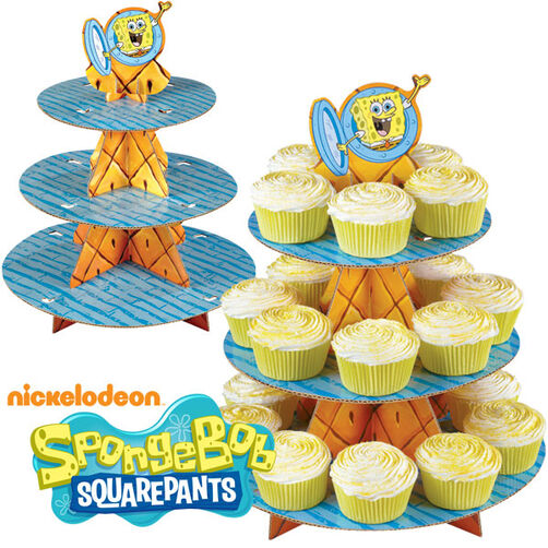 SpongeBob SquarePants Cupcake Stand