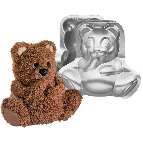 Stand-Up Cuddly Bear Pan Set