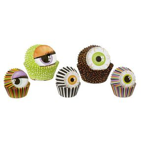Wilton Halloween Monster Eyes Multipack Baking Cups, 125 Ct.