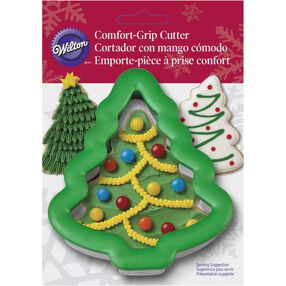 Wilton Comfort Grip Christmas Tree Cookie Cutter