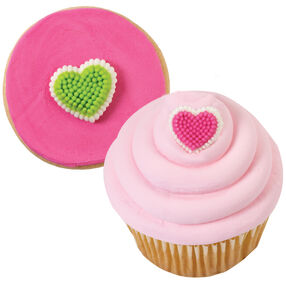 Mini Heart Icing Decorations