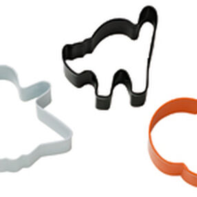 3 Pc. Halloween Cutter Set