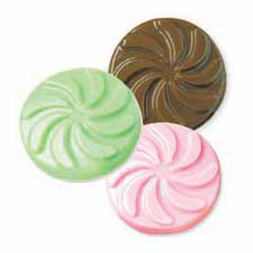 Classic Mint Discs Candy Mold