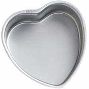 6 x 2 in. Decorator Preferred Heart Pan