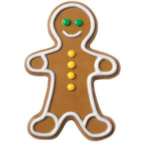 Gingerbread Boy Bark Candy Mold