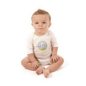 BABY MILESTONE STICKERS 12CT