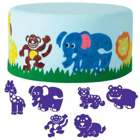 6-Pc. Animals Cake Stamp Set