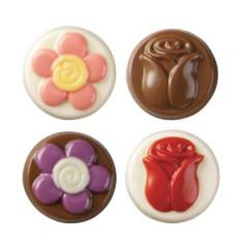 Flowers Cookie Candy Mold