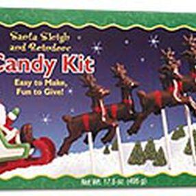 Santa Sleigh & Reindeer Candy Kit