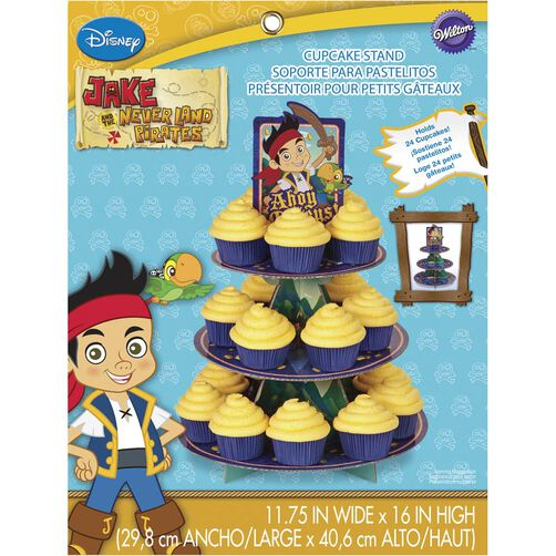 Disney Jake and the Never Land Pirates Cupcake Stand
