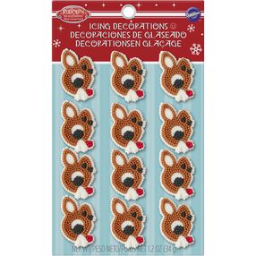 Rudolph the Red-Nosed Reindeer Edible Cupcake Toppers
