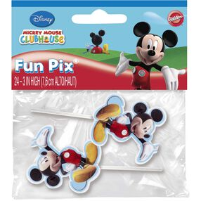 Disney Mickey Mouse Clubhouse Cupcake Toppers