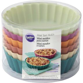 Wilton Silicone Mini Pie Molds