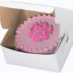 12 x 12 x 6 in. Window Cake Box