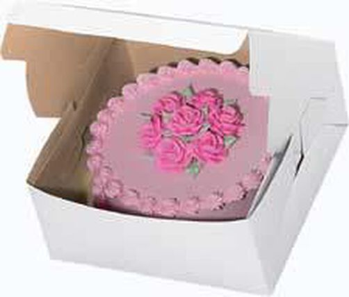 12 x 12 x 6 in. Window Cake Box