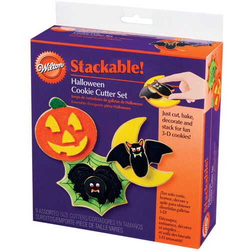 Halloween Stackable! Cookie Cutter Set