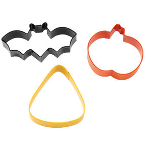 Bat/Jack-O-Lantern/Corn Cookie Cutter Set