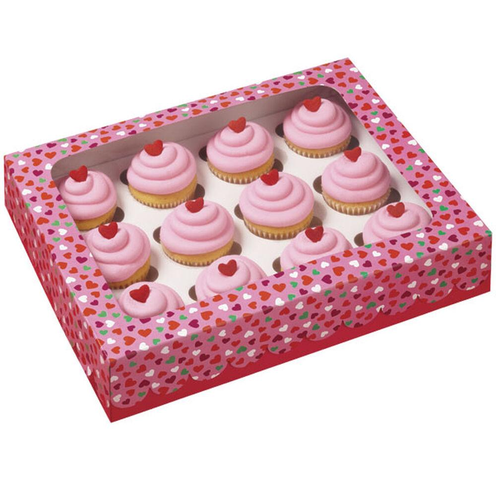 12 Cavity Mini Cupcake Box Wilton