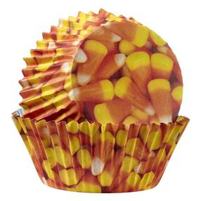 Wilton Candy Corn ColorCups Standard Baking Cups, 36 Ct.