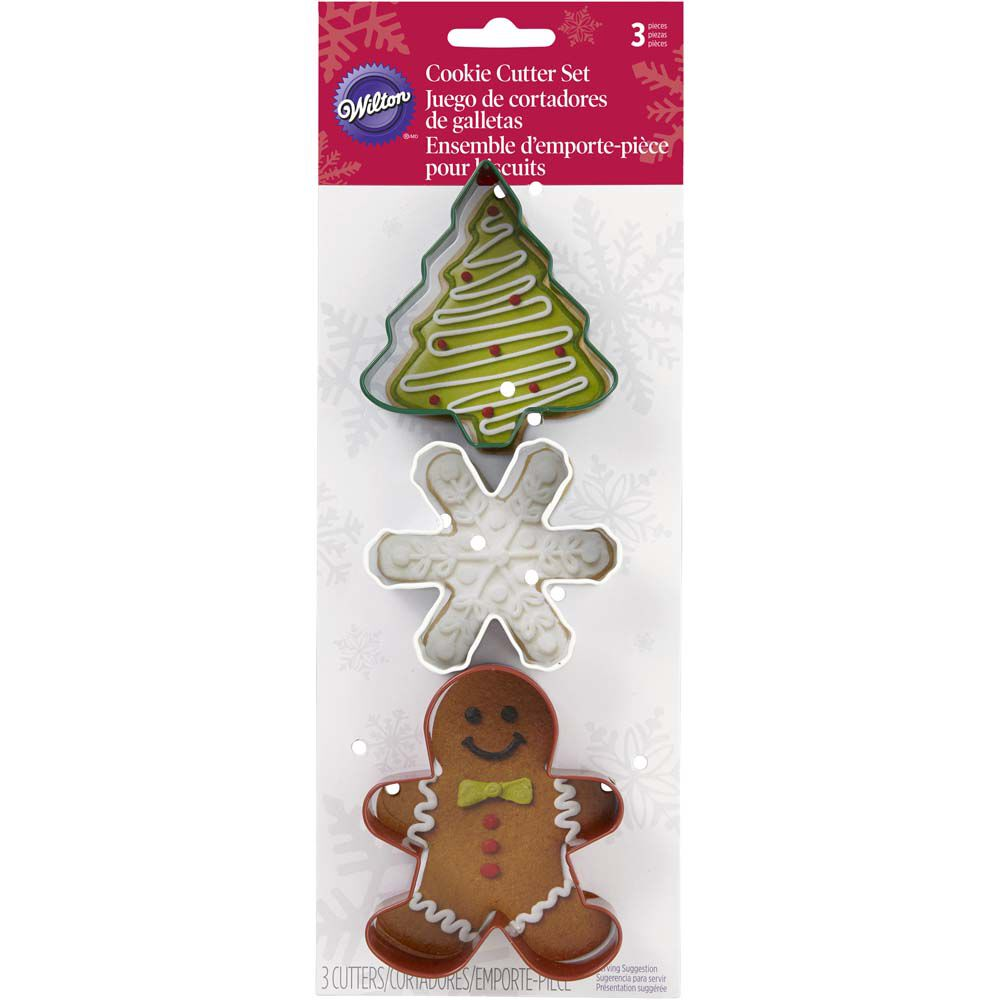 Christmas Cookie Cutter Set | Wilton